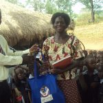 Delivering Scholastic materials at an Early Childhood Development Centre